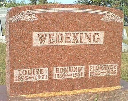 WEDEKING, LOUISE - Butler County, Iowa | LOUISE WEDEKING