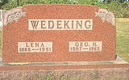 WEDEKING, GEORGE - Butler County, Iowa | GEORGE WEDEKING