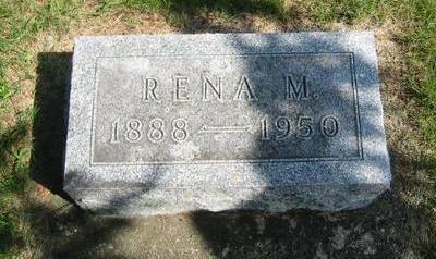 LEETE WILDER, RENA M. - Butler County, Iowa | RENA M. LEETE WILDER