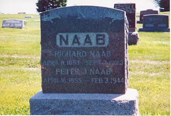 NAAB, RICHARD - Butler County, Iowa | RICHARD NAAB