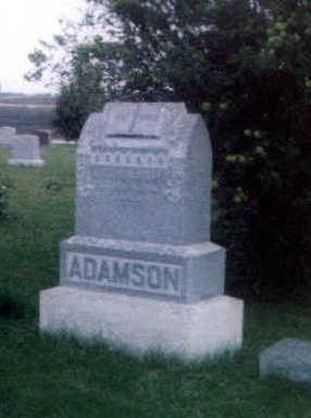ADAMSON, BENJAMIN THOMAS - Calhoun County, Iowa | BENJAMIN THOMAS ADAMSON