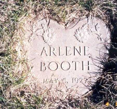 BOOTH, ARLENE - Calhoun County, Iowa | ARLENE BOOTH