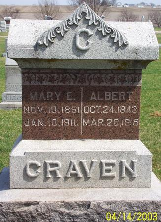 CRAVEN, ALBERT - Calhoun County, Iowa | ALBERT CRAVEN