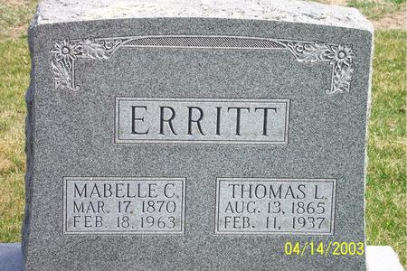 ERRITT, THOMAS - Calhoun County, Iowa | THOMAS ERRITT