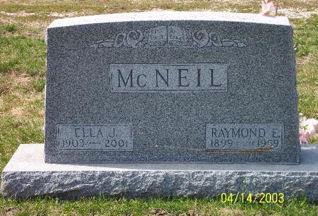 MCNEIL, RAYMOND EARL - Calhoun County, Iowa | RAYMOND EARL MCNEIL