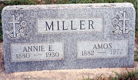 SMITH MILLER, ANNIE E. - Calhoun County, Iowa | ANNIE E. SMITH MILLER