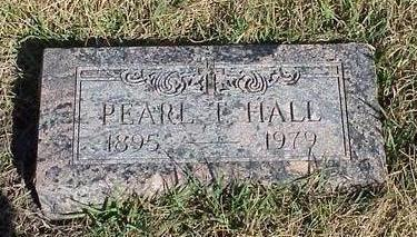HALL, EDITH PEARL MILLER TAYLOR - Calhoun County, Iowa | EDITH PEARL MILLER TAYLOR HALL