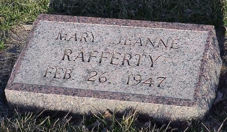 RAFFERTY, MARY JEANNE - Calhoun County, Iowa | MARY JEANNE RAFFERTY
