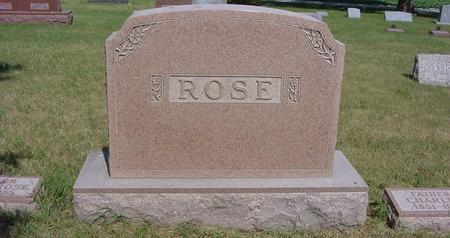 ROSE, CHARLES - Calhoun County, Iowa | CHARLES ROSE