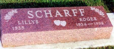 SCHARFF, ROGER L. - Calhoun County, Iowa | ROGER L. SCHARFF