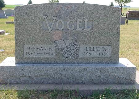 VOGEL, LILLIE - Calhoun County, Iowa | LILLIE VOGEL