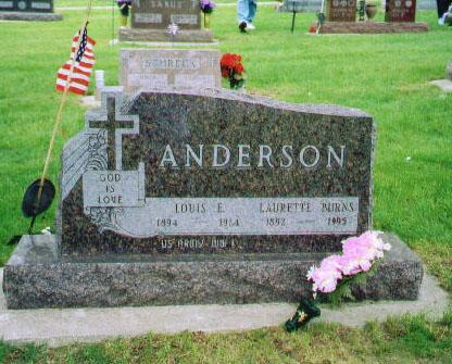 ANDERSON, LOUIS E - Carroll County, Iowa | LOUIS E ANDERSON 
