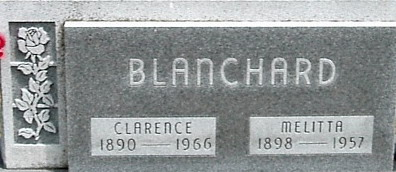 BLANCHARD, MELITTA - Carroll County, Iowa | MELITTA BLANCHARD