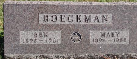 BOECKMAN, BEN & MARY - Carroll County, Iowa | BEN & MARY BOECKMAN