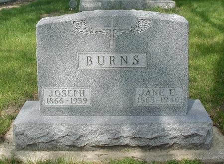 HENNEBERRY BURNS, JANE - Carroll County, Iowa | JANE HENNEBERRY BURNS