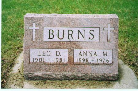 BURNS, ANNA M. - Carroll County, Iowa | ANNA M. BURNS
