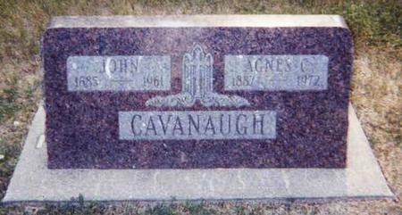 CAVANAUGH, AGNES - Carroll County, Iowa | AGNES CAVANAUGH