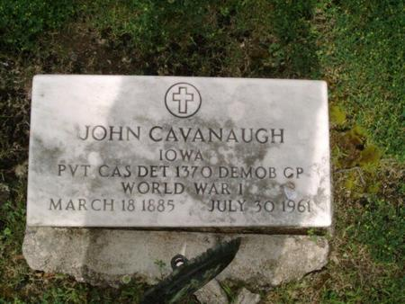 CAVANAUGH, JOHN - Carroll County, Iowa | JOHN CAVANAUGH