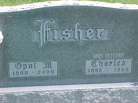 FISHER, CHARLES - Carroll County, Iowa | CHARLES FISHER