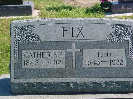 FIX, LEO & CATHERINE - Carroll County, Iowa | LEO & CATHERINE FIX