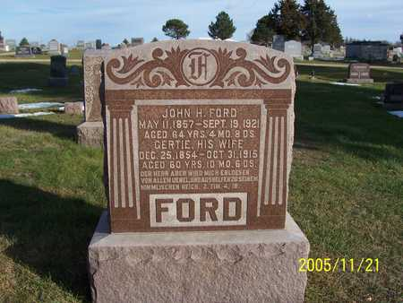 FORD, LOUIS - Carroll County, Iowa | LOUIS FORD