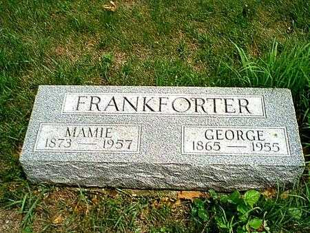 FRANKFORTER, GEORGE - Carroll County, Iowa | GEORGE FRANKFORTER