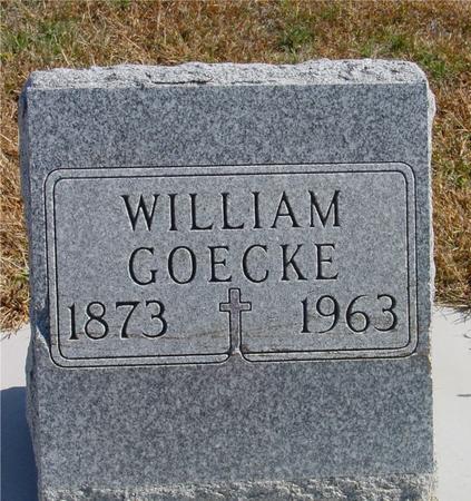 GOECKE, WILLIAM - Carroll County, Iowa | WILLIAM GOECKE