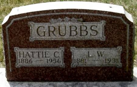 GRUBBS, HATTIE C. - Carroll County, Iowa | HATTIE C. GRUBBS