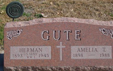 GUTE, HERMAN & AMELIA - Carroll County, Iowa | HERMAN & AMELIA GUTE