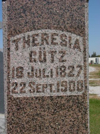 GUTZ, THERESIA - Carroll County, Iowa | THERESIA GUTZ