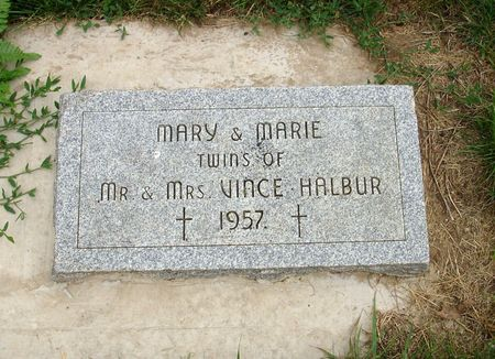 HALBUR, MARY - Carroll County, Iowa | MARY HALBUR