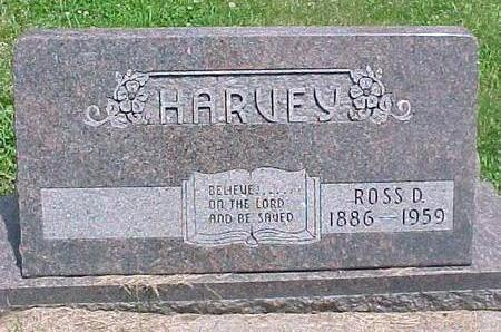 HARVEY, ROSS D. - Carroll County, Iowa | ROSS D. HARVEY