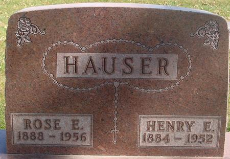 HAUSER, HENRY E. & ROSE - Carroll County, Iowa | HENRY E. & ROSE HAUSER