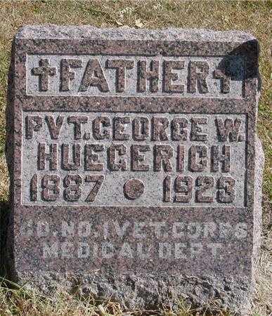 HUEGERICH, GEORGE W. - Carroll County, Iowa | GEORGE W. HUEGERICH