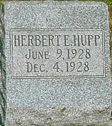 HUPP, HERBERT E. - Carroll County, Iowa | HERBERT E. HUPP