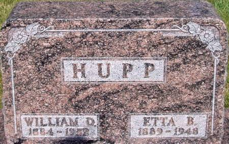 HUPP, WILLIAM D - Carroll County, Iowa | WILLIAM D HUPP