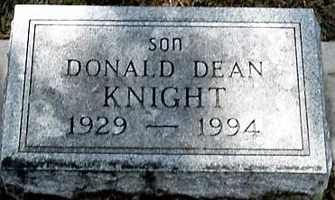 KNIGHT, DONALD DEAN - Carroll County, Iowa | DONALD DEAN KNIGHT