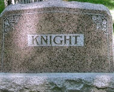 KNIGHT, FAMILY - Carroll County, Iowa | FAMILY KNIGHT