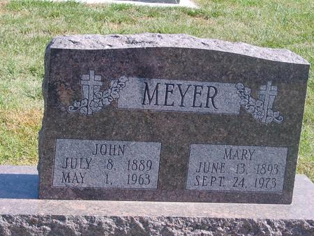 MEYER, JOHN & MARY - Carroll County, Iowa | JOHN & MARY MEYER