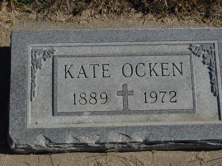 OCKEN, KATE - Carroll County, Iowa | KATE OCKEN
