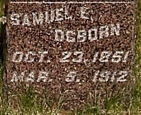 OGBORN, SAMUEL E. - Carroll County, Iowa | SAMUEL E. OGBORN