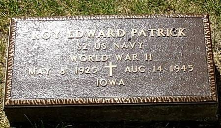 PATRICK, ROY EDWARD - Carroll County, Iowa | ROY EDWARD PATRICK