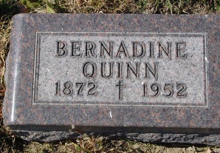 QUINN, BERNADINE - Carroll County, Iowa | BERNADINE QUINN
