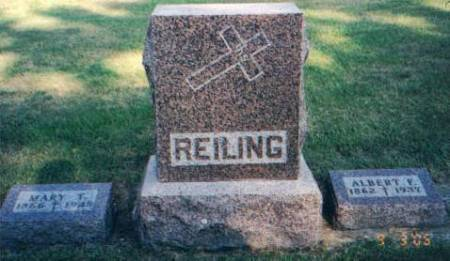 REILING, ALBERT - Carroll County, Iowa | ALBERT REILING