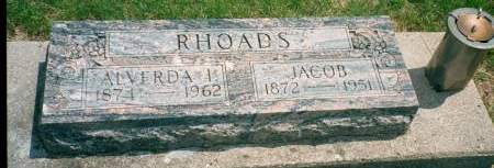RHOADS, JACOB - Carroll County, Iowa | JACOB RHOADS