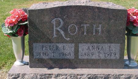 ROTH, PETER L. & ANNA E. - Carroll County, Iowa | PETER L. & ANNA E. ROTH