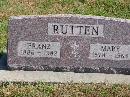 RUTTEN, FRANZ & MARY - Carroll County, Iowa | FRANZ & MARY RUTTEN