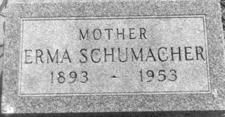 SCHUMACHER, ERMA - Carroll County, Iowa | ERMA SCHUMACHER