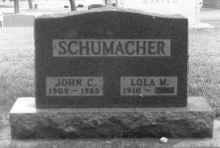 SCHUMACHER, JOHN C. - Carroll County, Iowa | JOHN C. SCHUMACHER