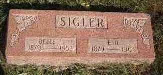 SIGLER, BELLE L. - Carroll County, Iowa | BELLE L. SIGLER